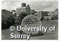 Photographs of the Geodesic Dome, erected at the University of Surrey during the Space Structures Conference